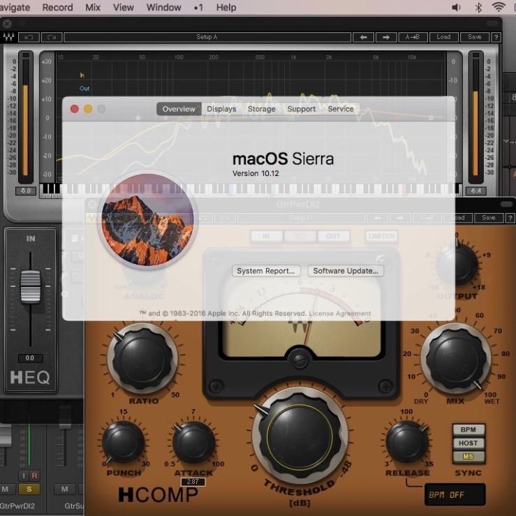 LPX & Waves on macOS Sierra – Inst